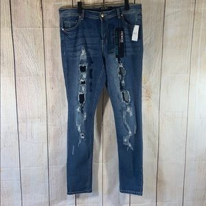 NWT Rue 21 distressed Skinny jeans